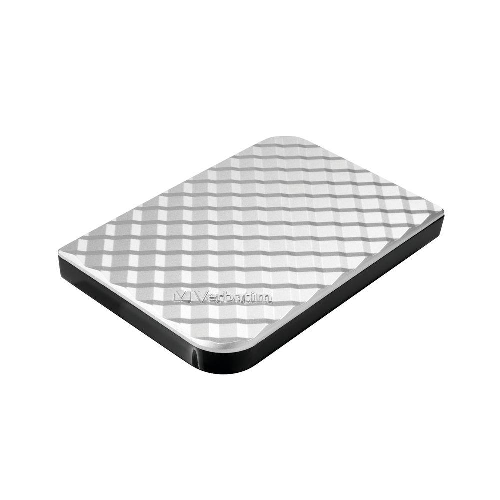 Verbatim Store 'n' Go Silver 1TB HDD – 53197