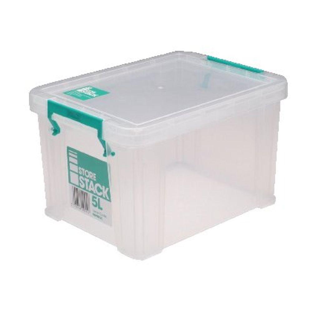 StoreStack 5L Storage Box with Lid - S20K050VW