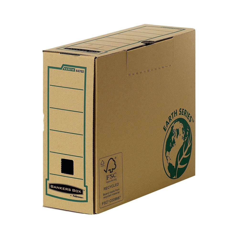 Bankers Box R-Kive Earth Series Transfer Files, Pack of 20 - 4470201
