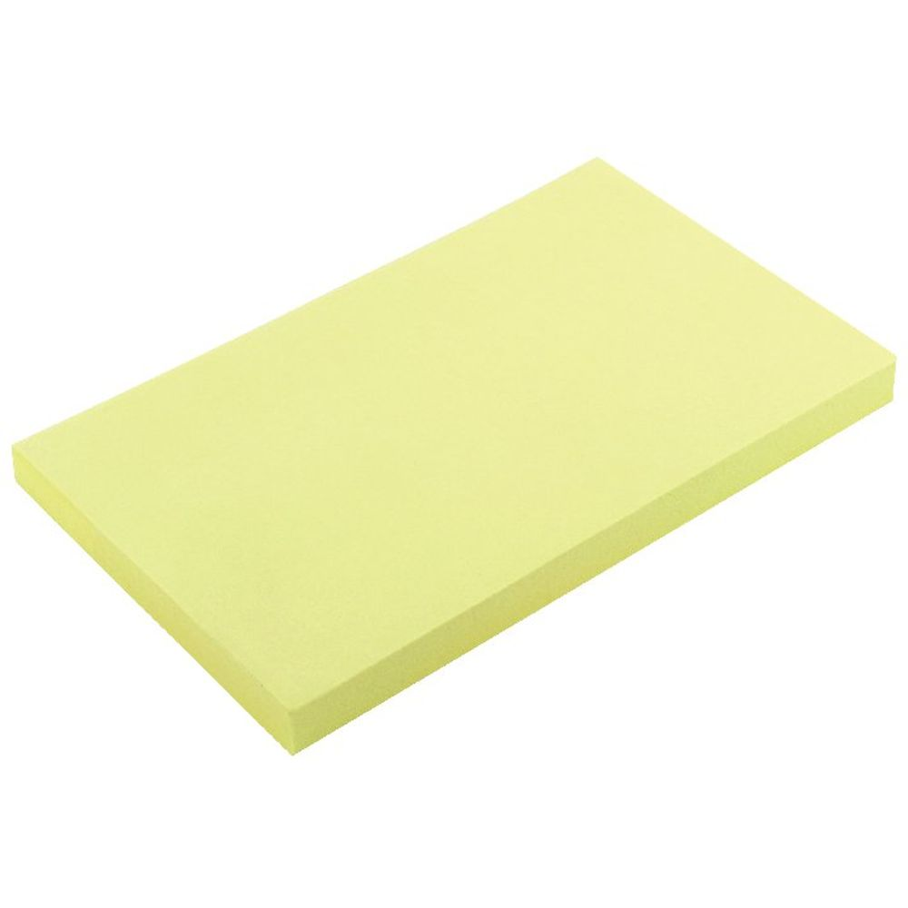 Yellow 75 x 127mm Quick Notes Pads, Pack of 12 - 3-655-01