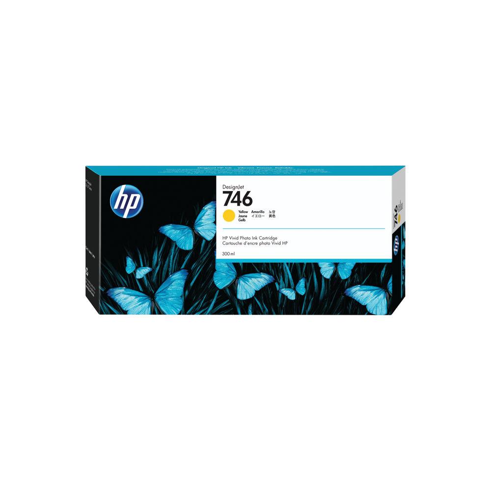 HP 746 300ml Yellow Ink Cartridge P2V79A