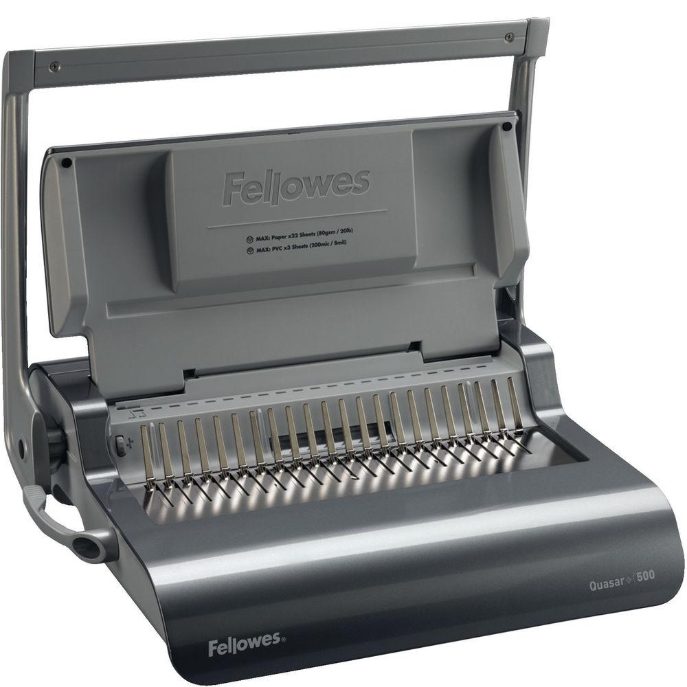 Fellowes Quasar+ Manual Comb Binder - 5627701