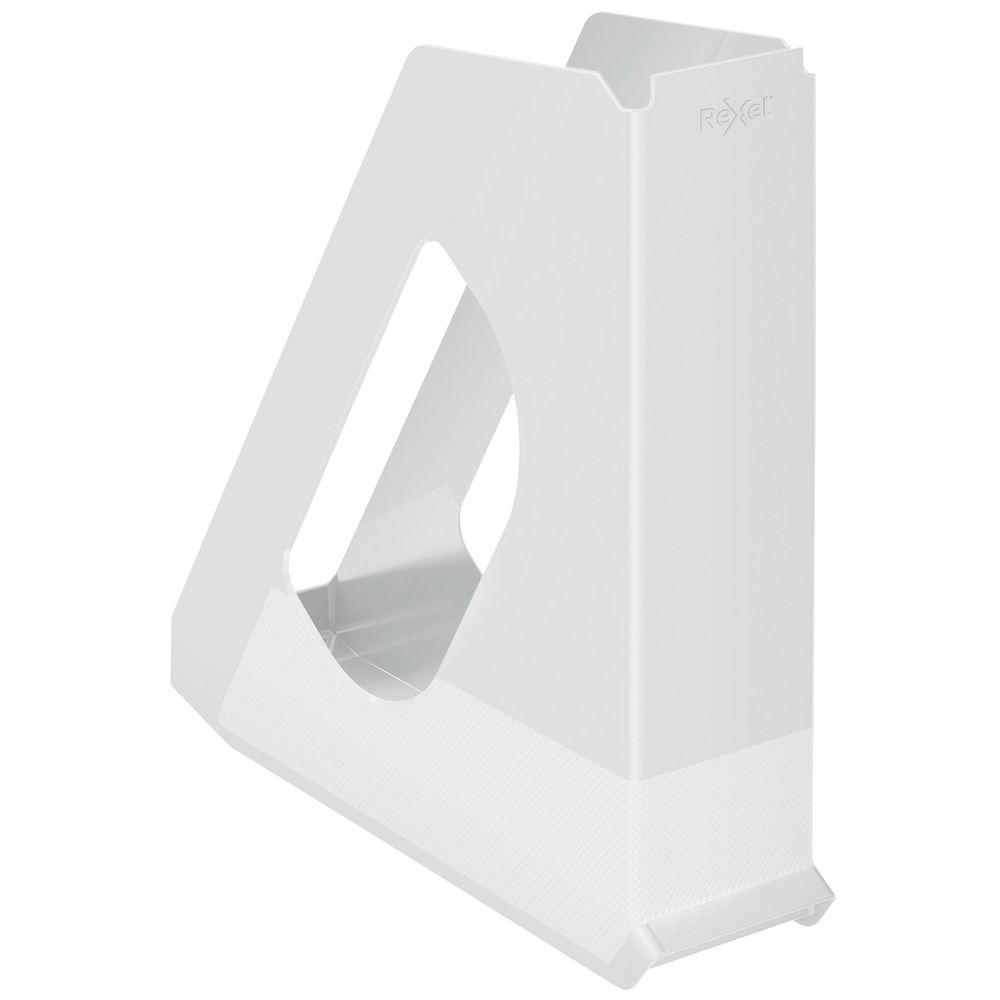 Rexel Choices White Magazine File - 2115606