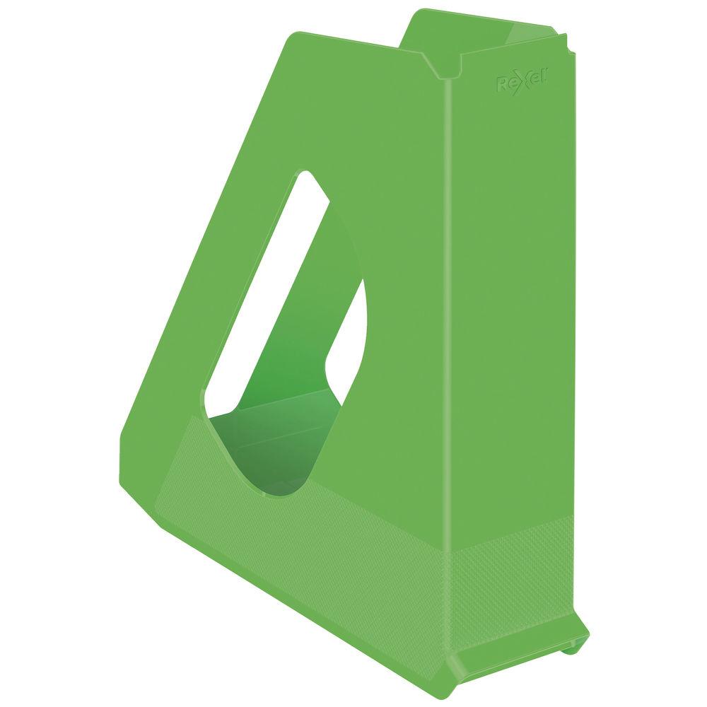 Rexel Choices Green Magazine File - 2115604