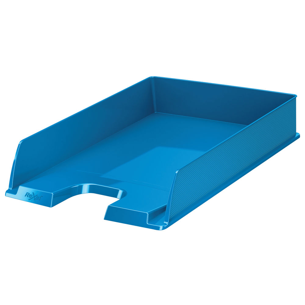Rexel Choices Blue A4 Letter Tray - 2115601