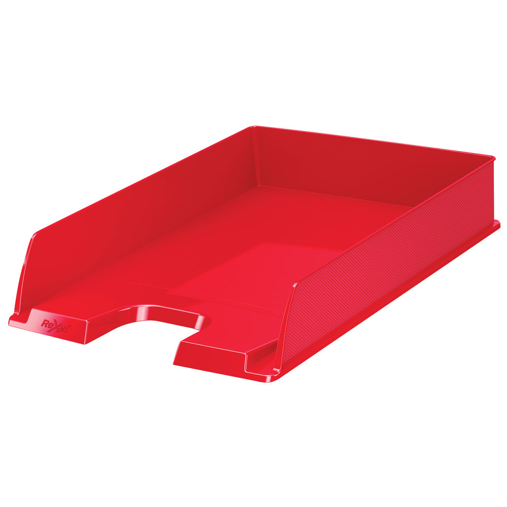 Rexel Choices Red A4 Letter Tray - 2115599