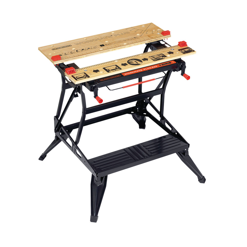 Black And Decker Workmate 825 Deluxe Large Workbench with Vertical Clamping WM825-XJ