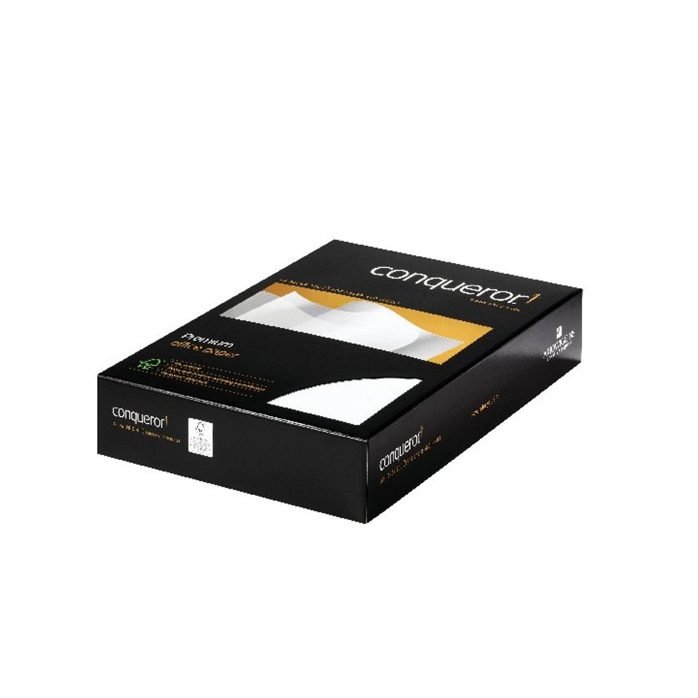Conqueror A4 High White Wove Paper, 100gsm, Pack of 500 - CQW0324HWNW
