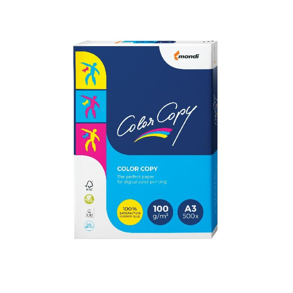 Color Copy A3 White Paper, 100gsm, Pack of 500 - SNCC230100