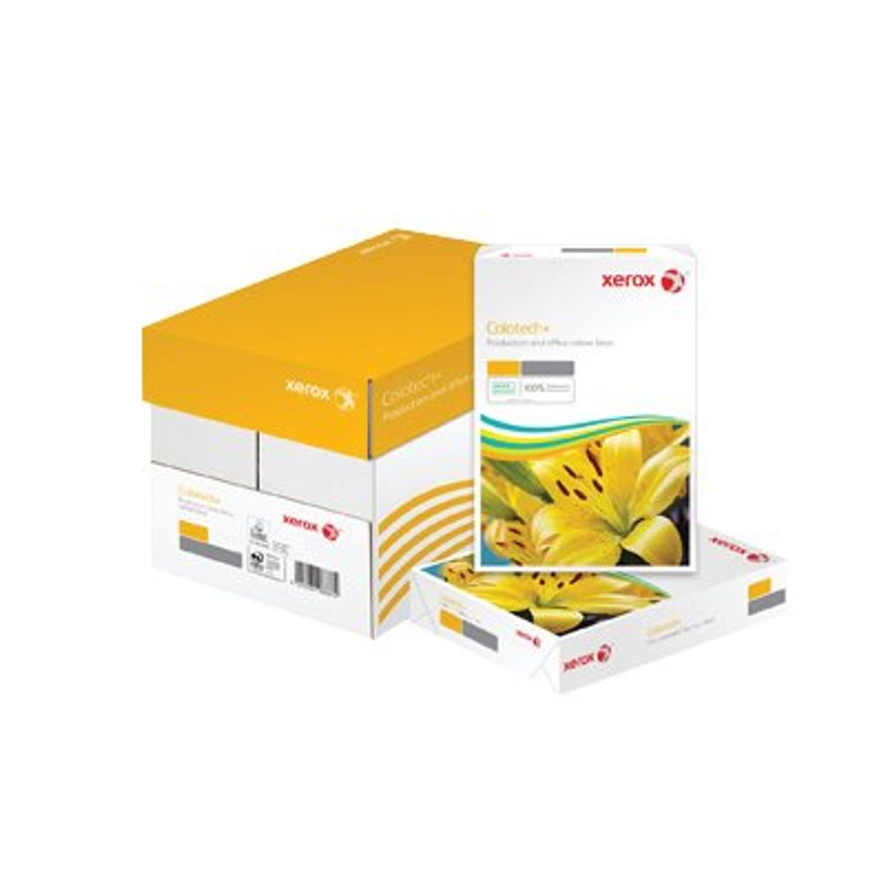 Xerox Colotech+ A4 White Gloss Paper, 120gsm, Pack of 500 - 003R90336