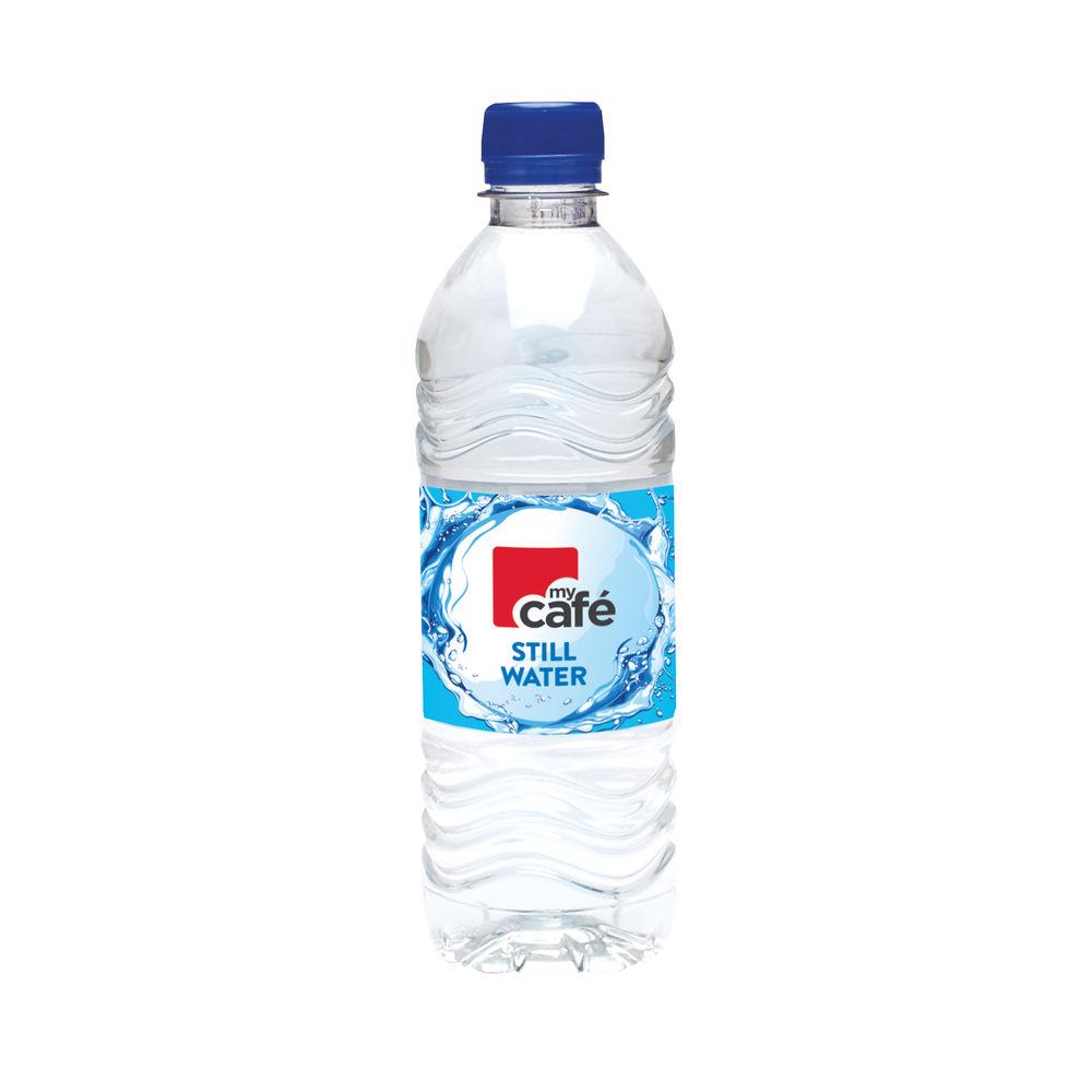 Mycafé Still Bottled Water, 500ml - Pack of 24 - 0201030
