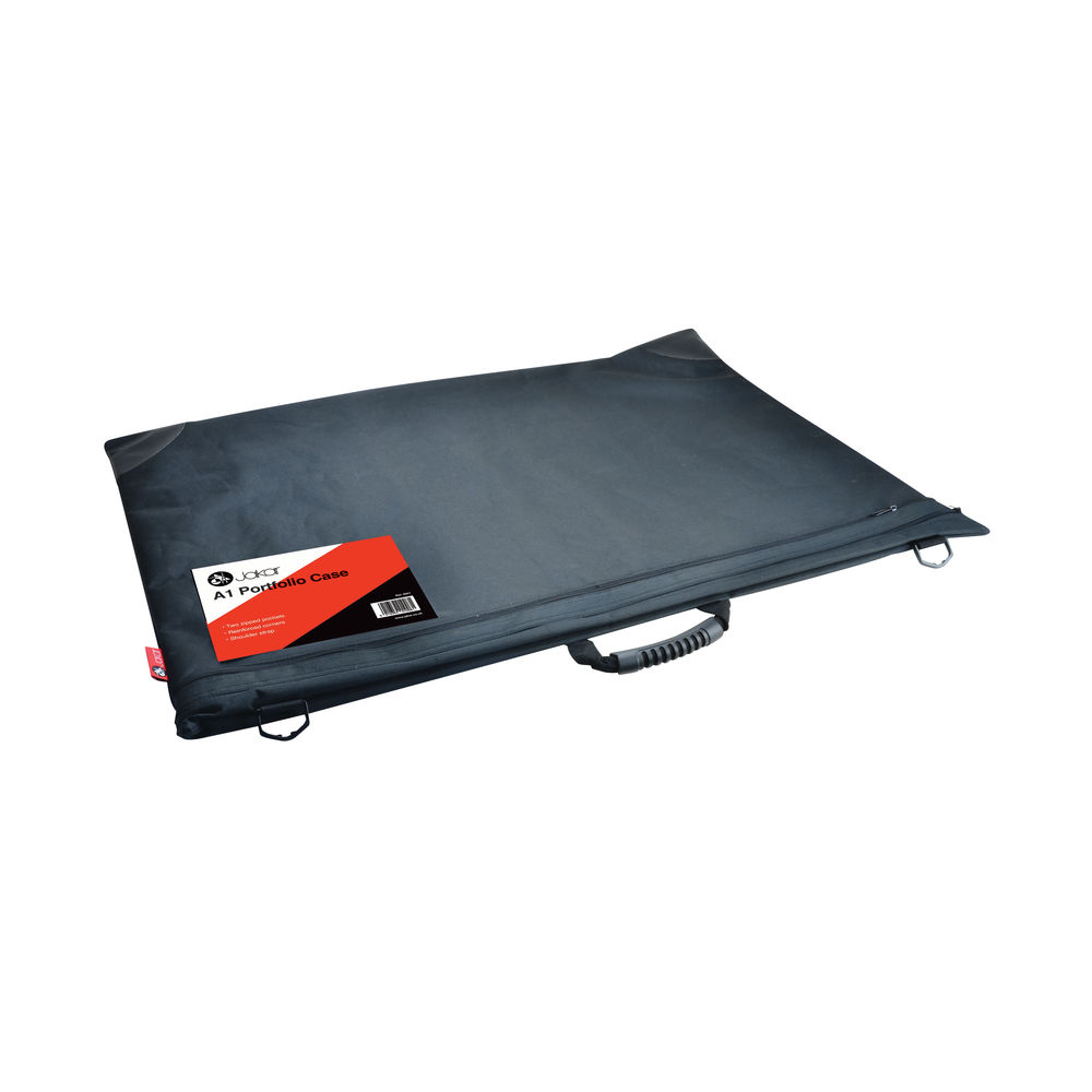 Jakar A1 Black Soft Portfolio Case – 8001