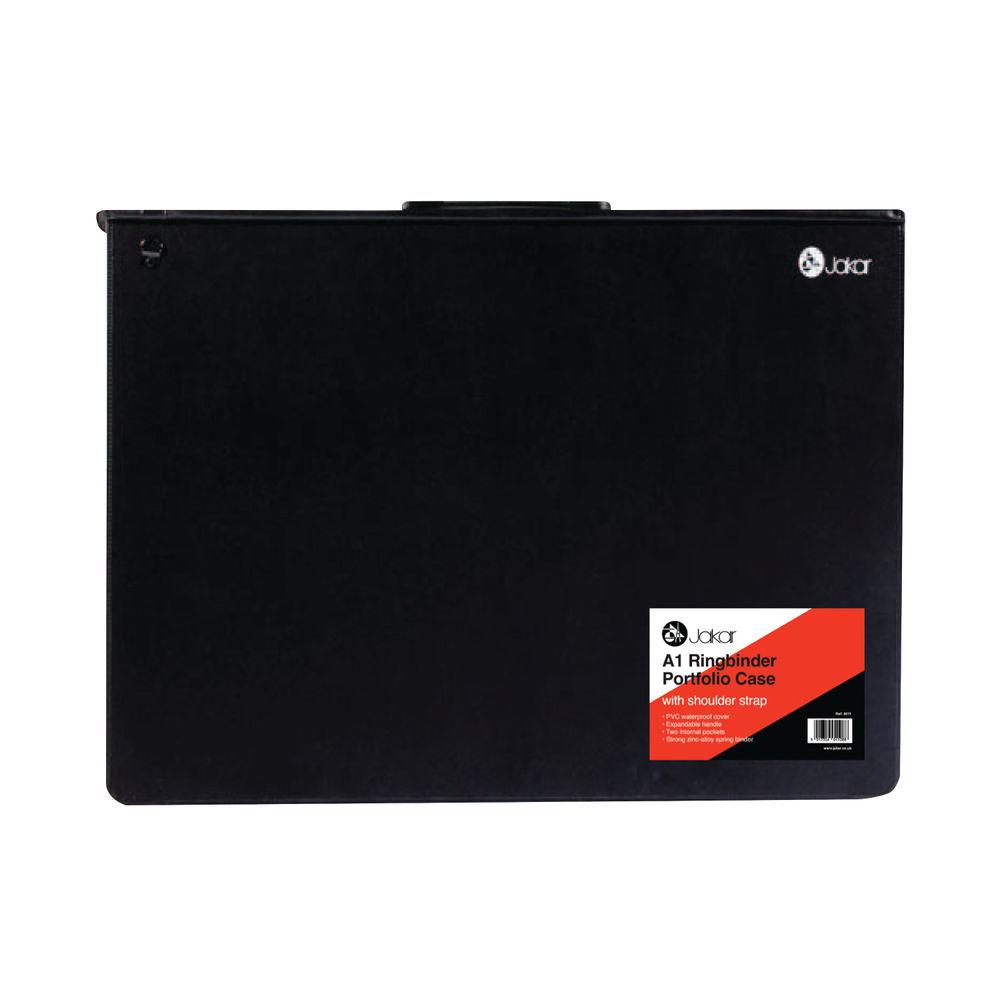 Jakar A1 Black Ring Binder Portfolio Case - 8011