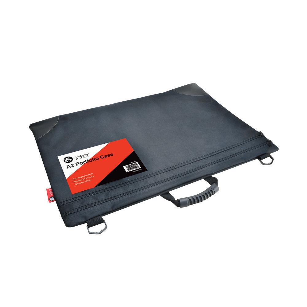 Jakar A2 Black Soft Portfolio Case – 8002