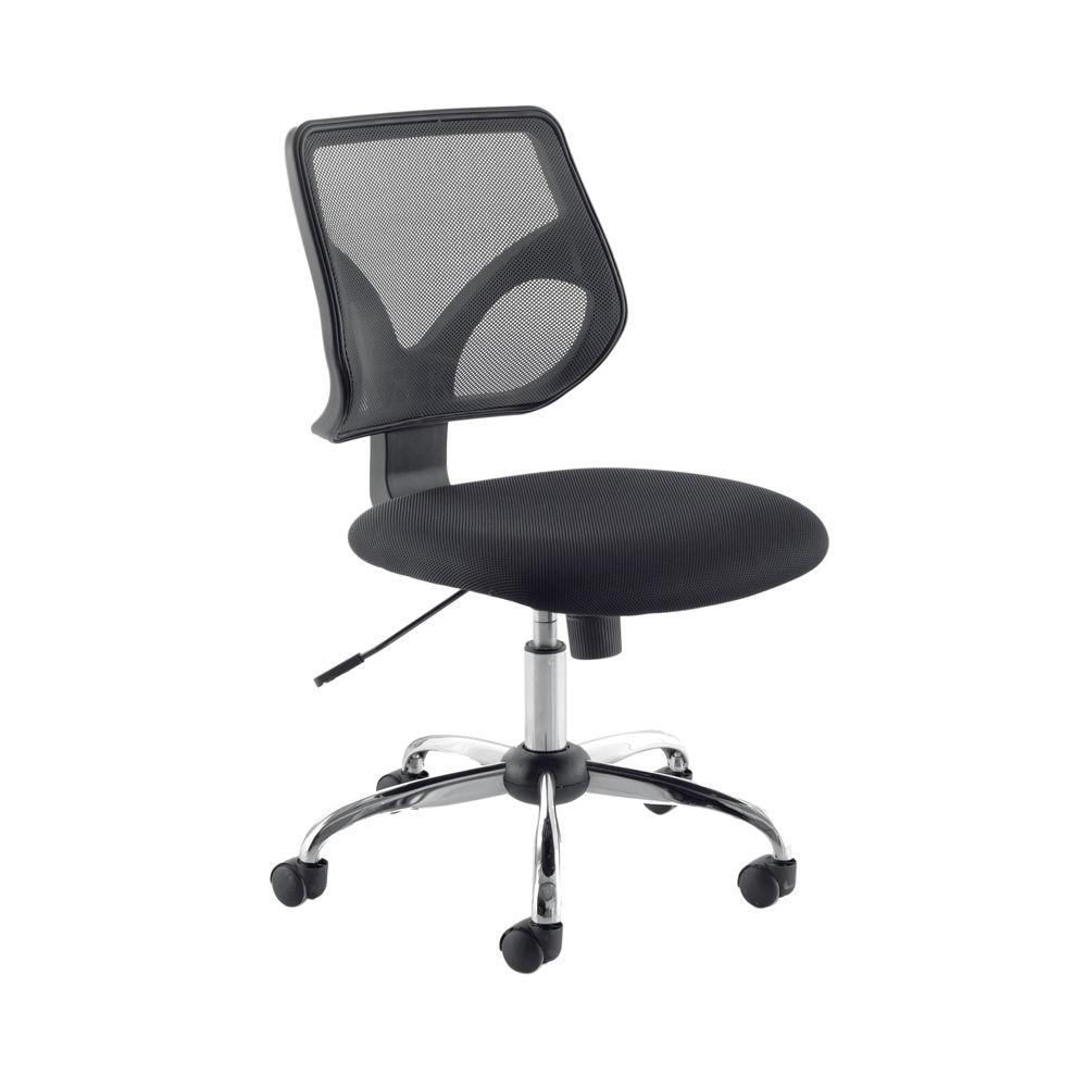 Jemini Nile Black Medium Back Task Office Chair