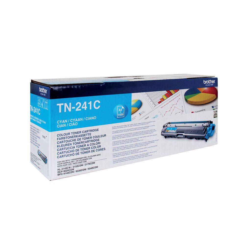 Brother TN-241C Cyan Toner Cartridge - TN241C