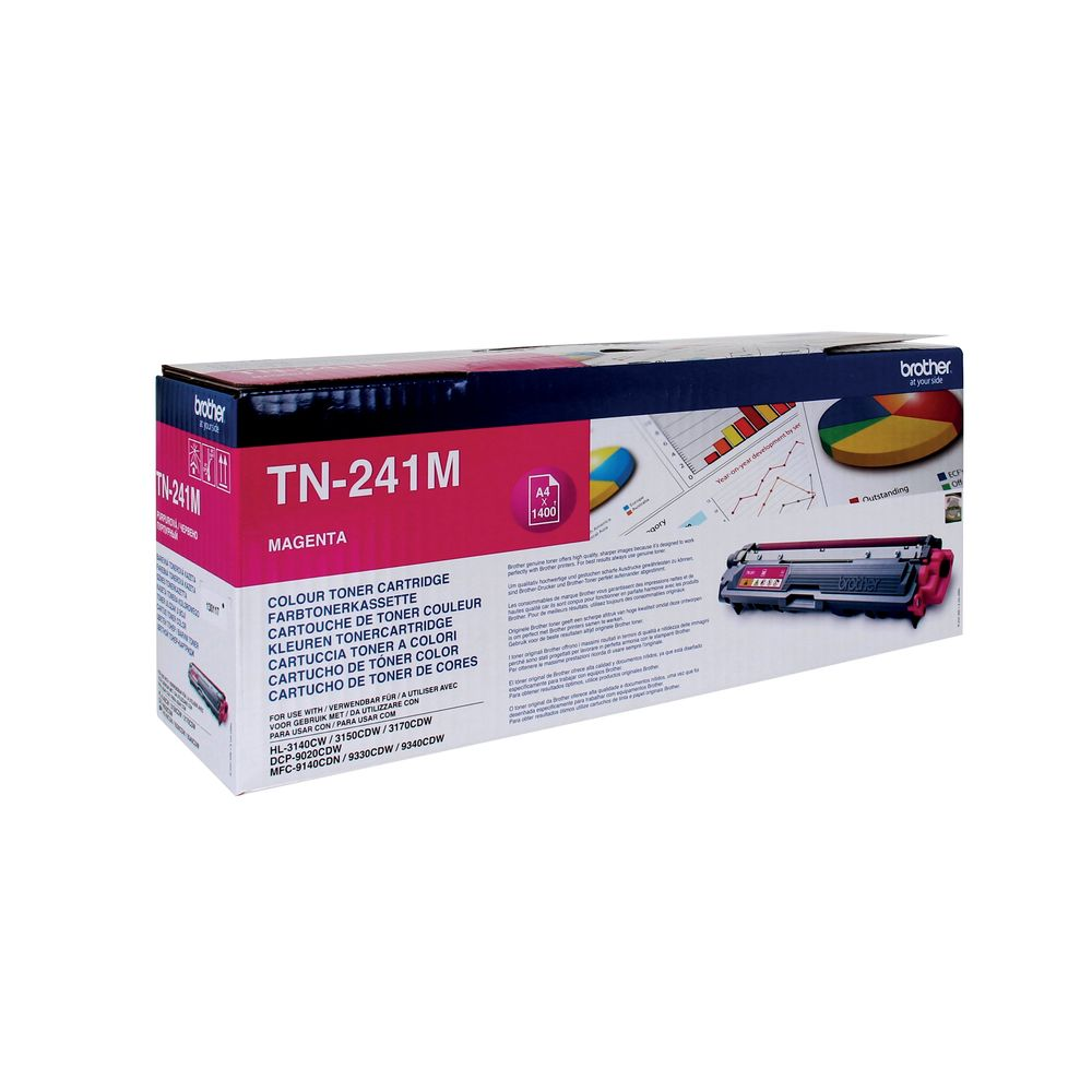 Brother TN-241M Magenta Toner Cartridge - TN241M