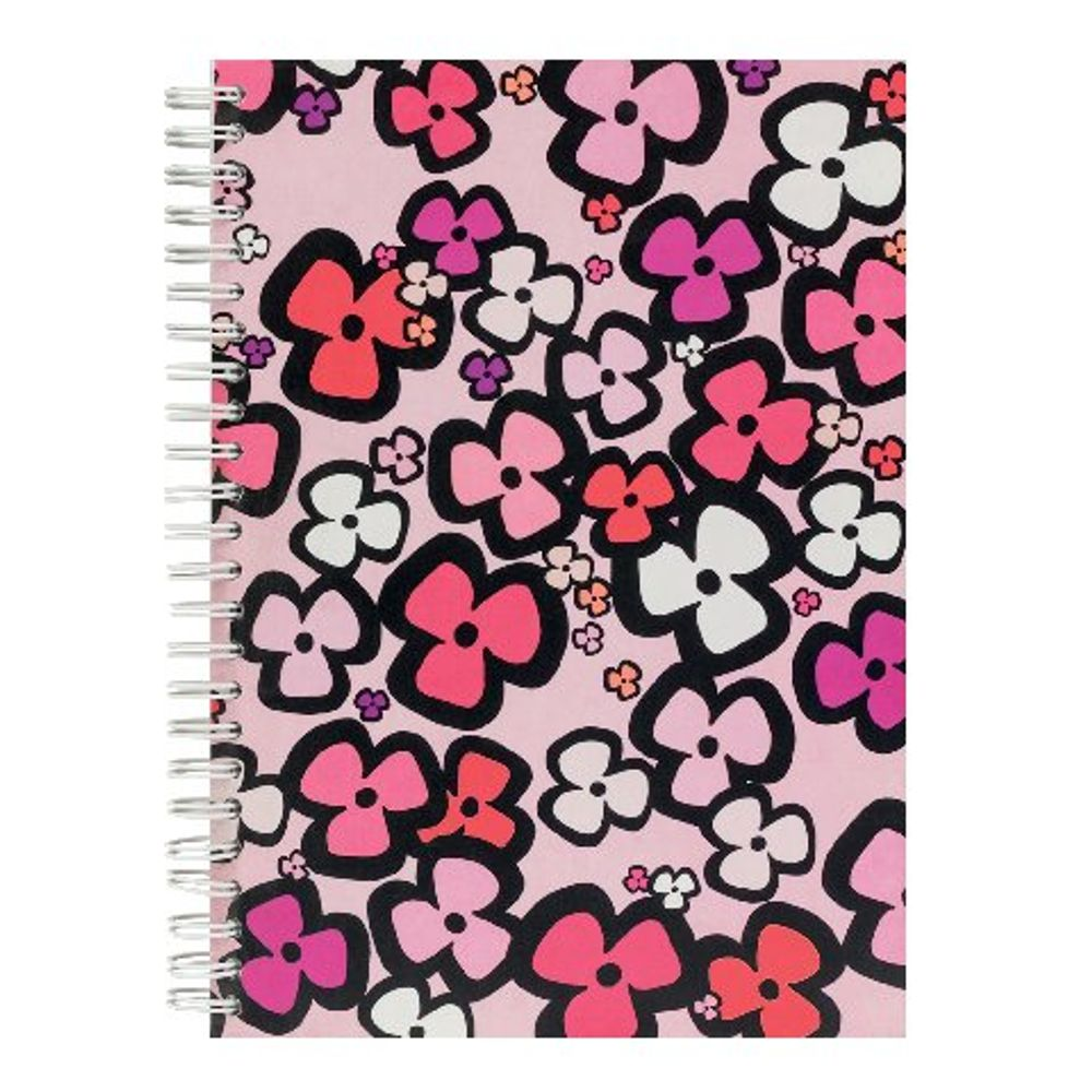 Go Stationery Bright Floral A5 Pink Notebook – 5NC159