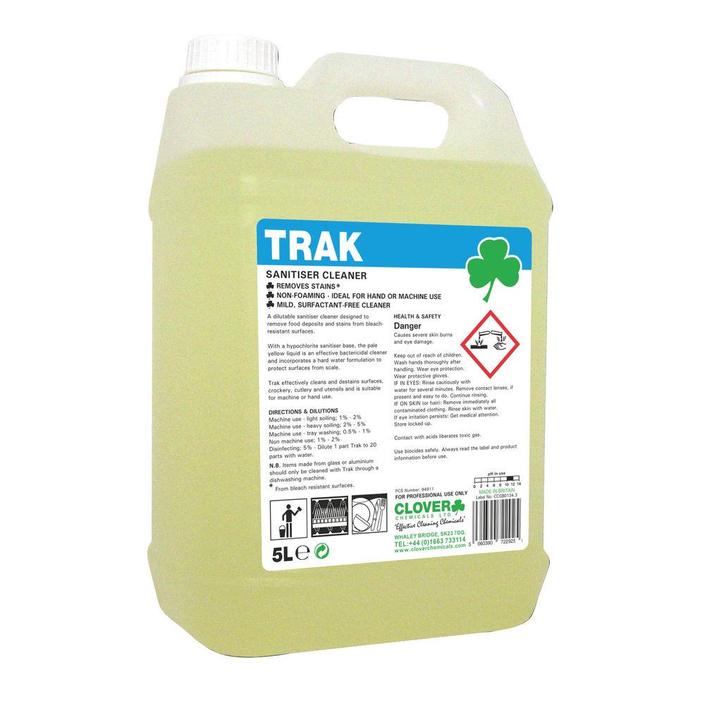 Clover 5L Trak Sanitiser Cleaner – 249