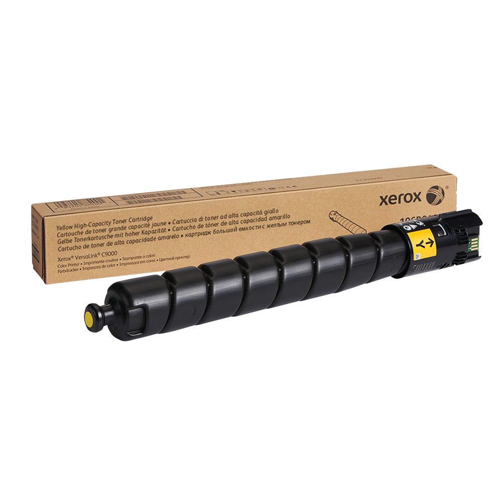 Xerox C9000 Yellow Toner Cartridge - High Capacity 106R04080