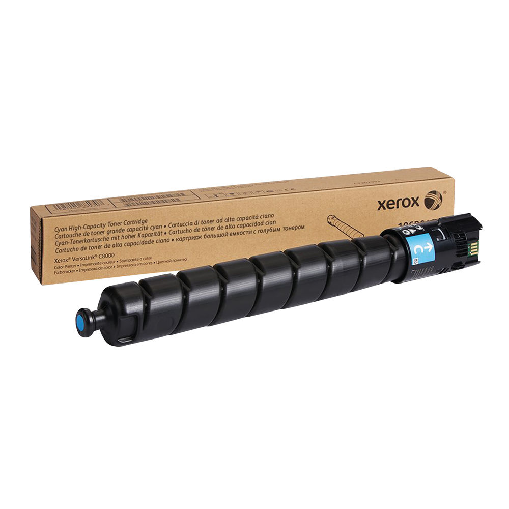 Xerox C8000 Cyan Toner Cartridge - High Capacity 106R04050