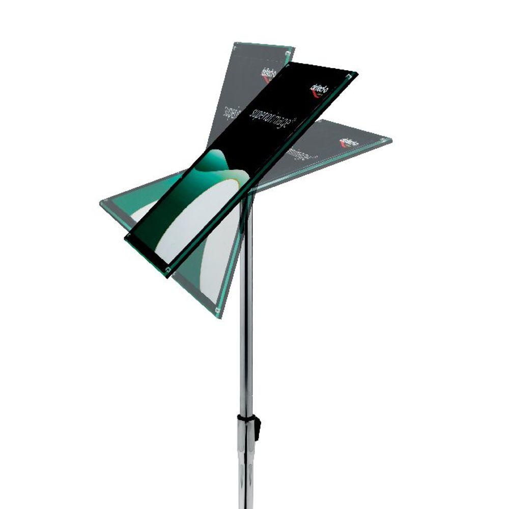 Deflecto Floor Sign Holder A4 DE790845