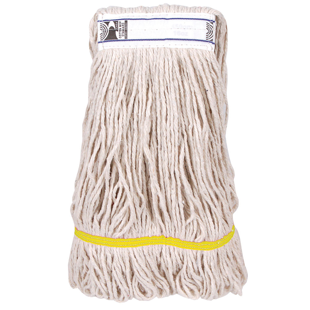 2Work 340g PY Kentucky Mop, Yellow (Pack of 5) – KGYE3405I
