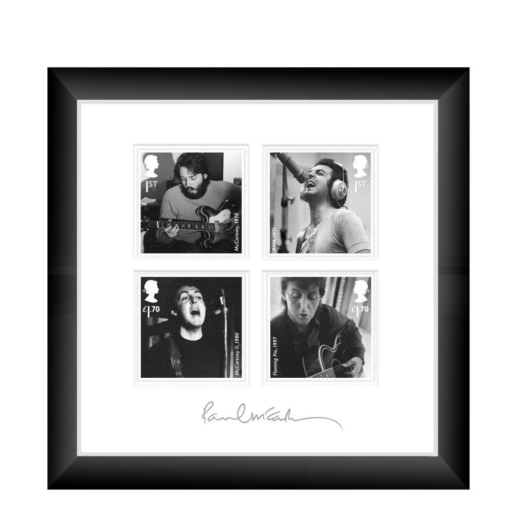 Paul McCartney Framed Miniature Sheet
