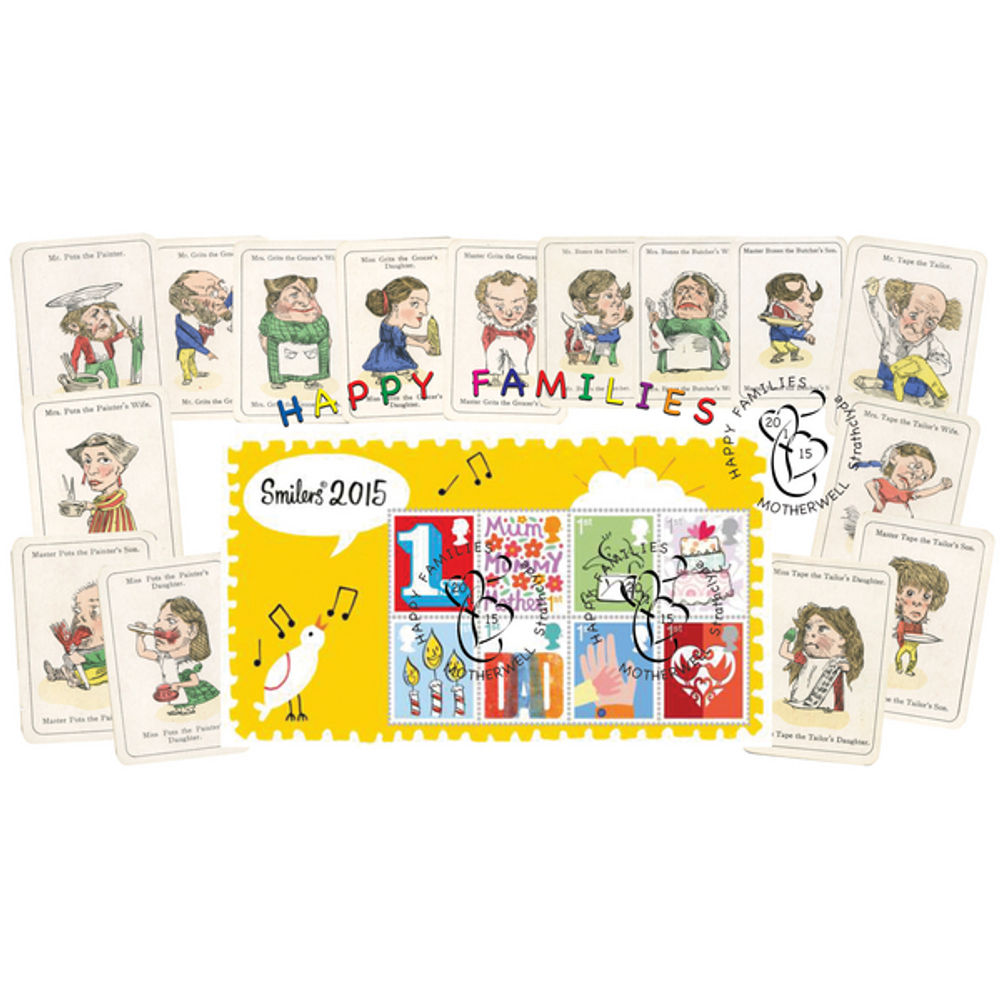 The Happy Families Miniature Sheet First Day Cover - BC517M