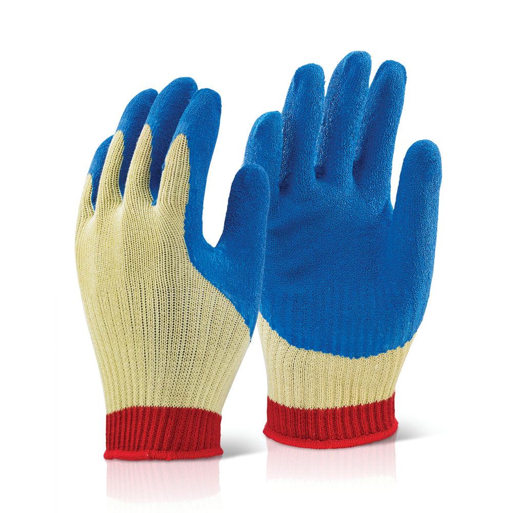 Click Kevlar/Latex Gloves Large Blue KLGL