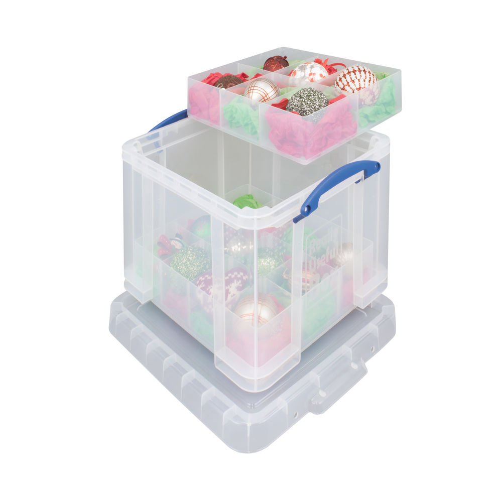 Really Useful Box With 2 Trays 35L 480x390x310mm RUP35C 16T 12T