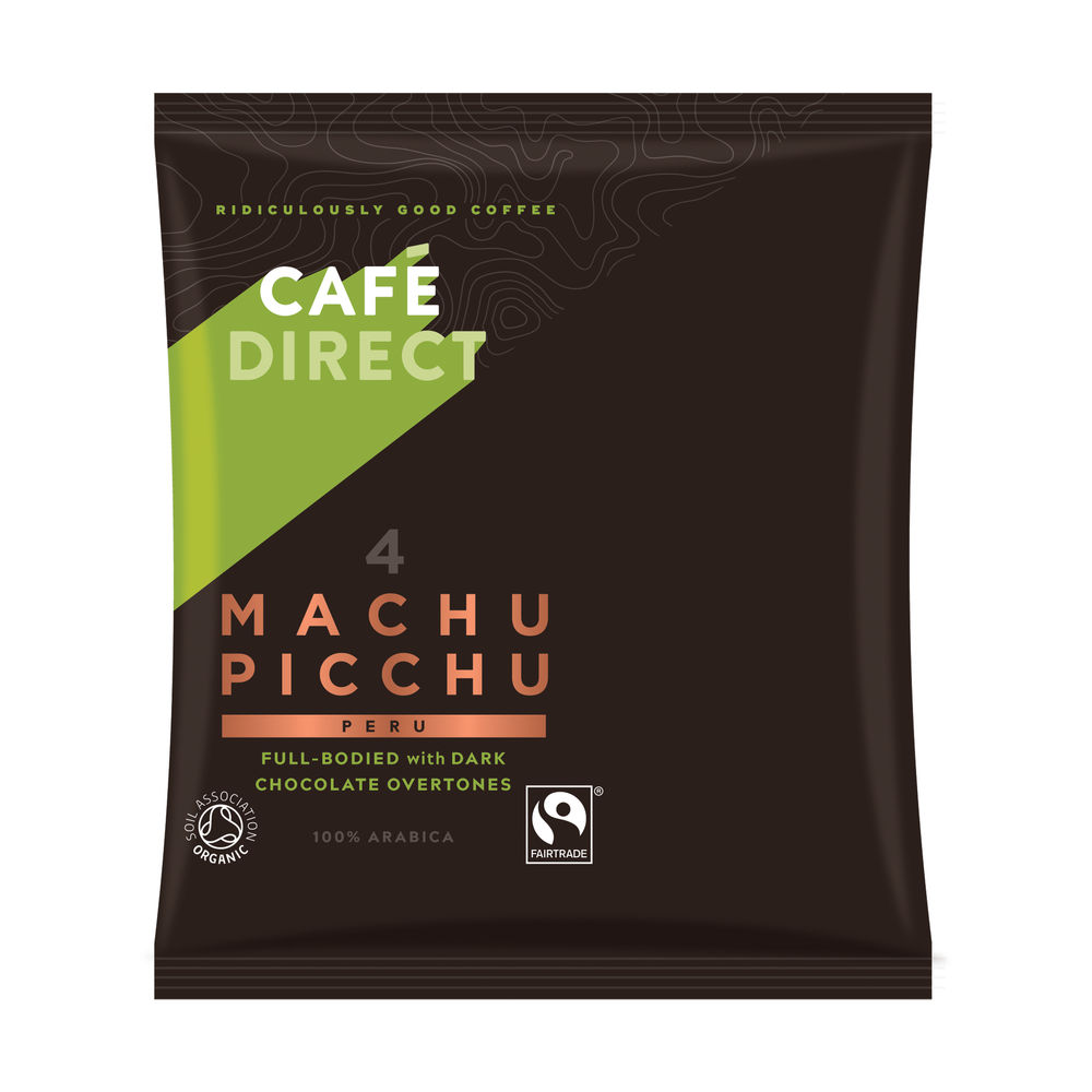 Cafedirect Machu Picchu Ground Coffee 60g (Pack of 45) FCR1011