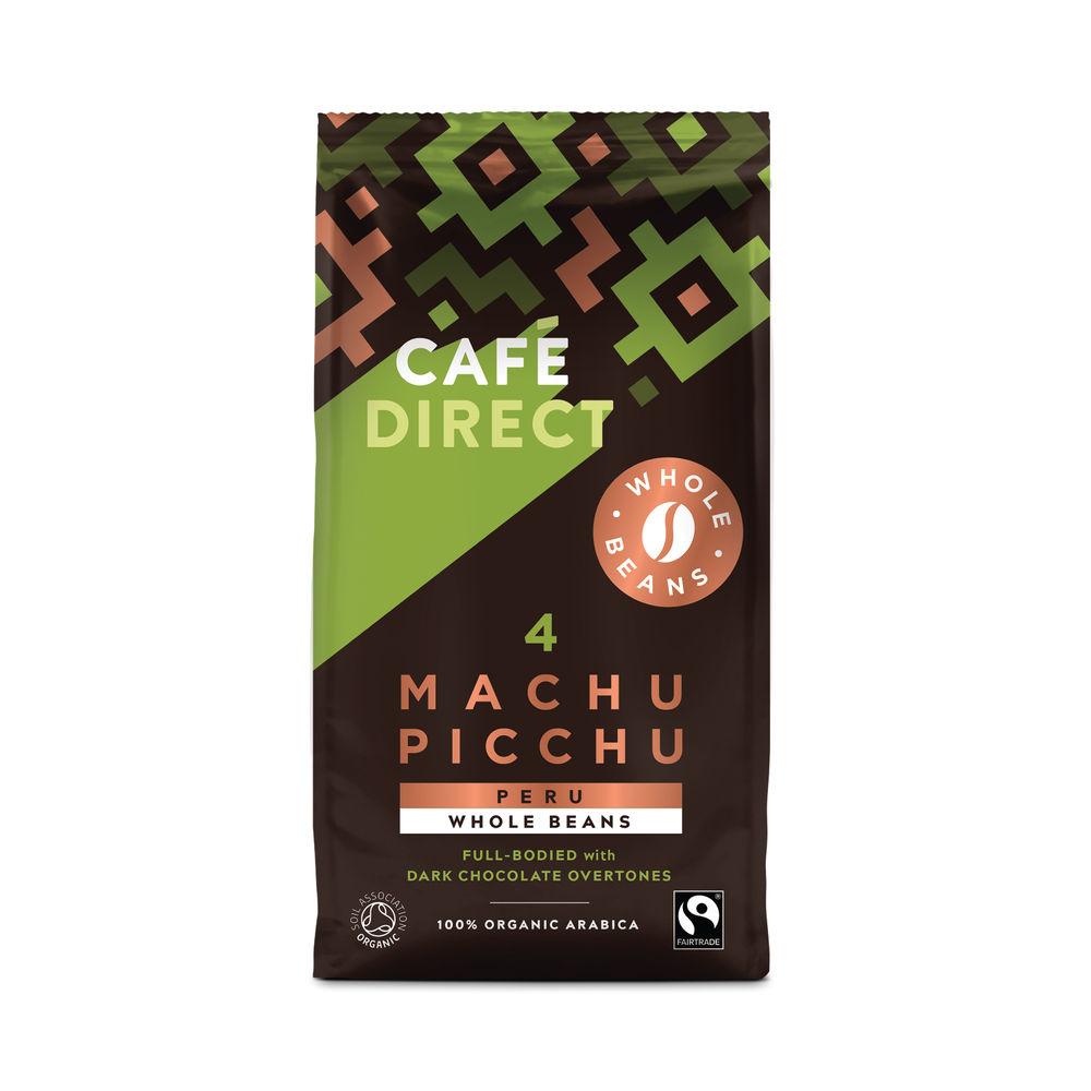 Cafedirect 227g Macchu Picchu Coffee Beans - FCR1004