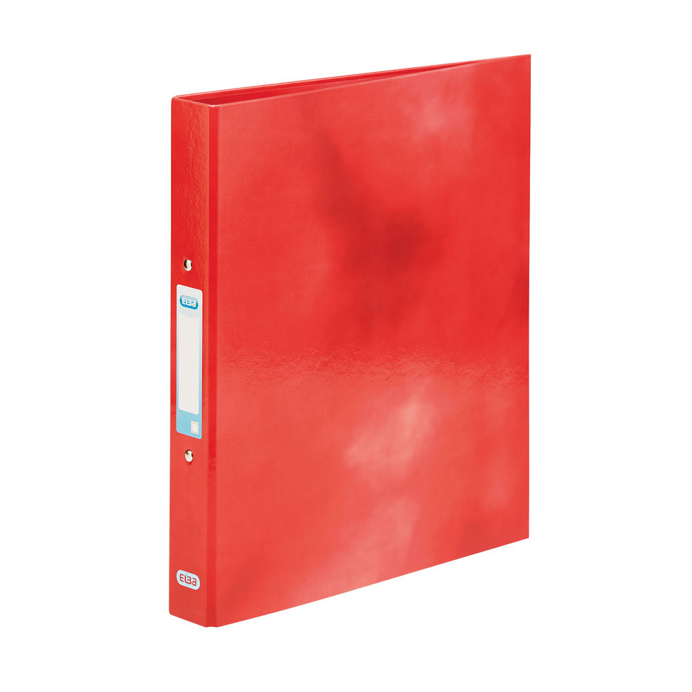 Elba Classy Red A4 2 O-Ring Binder 25mm - 400017755