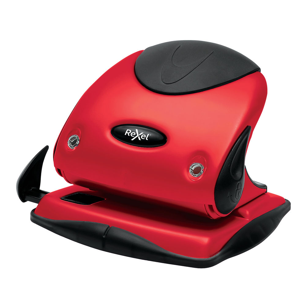 Rexel Choices P225 Red 2 Hole Punch - 2115692