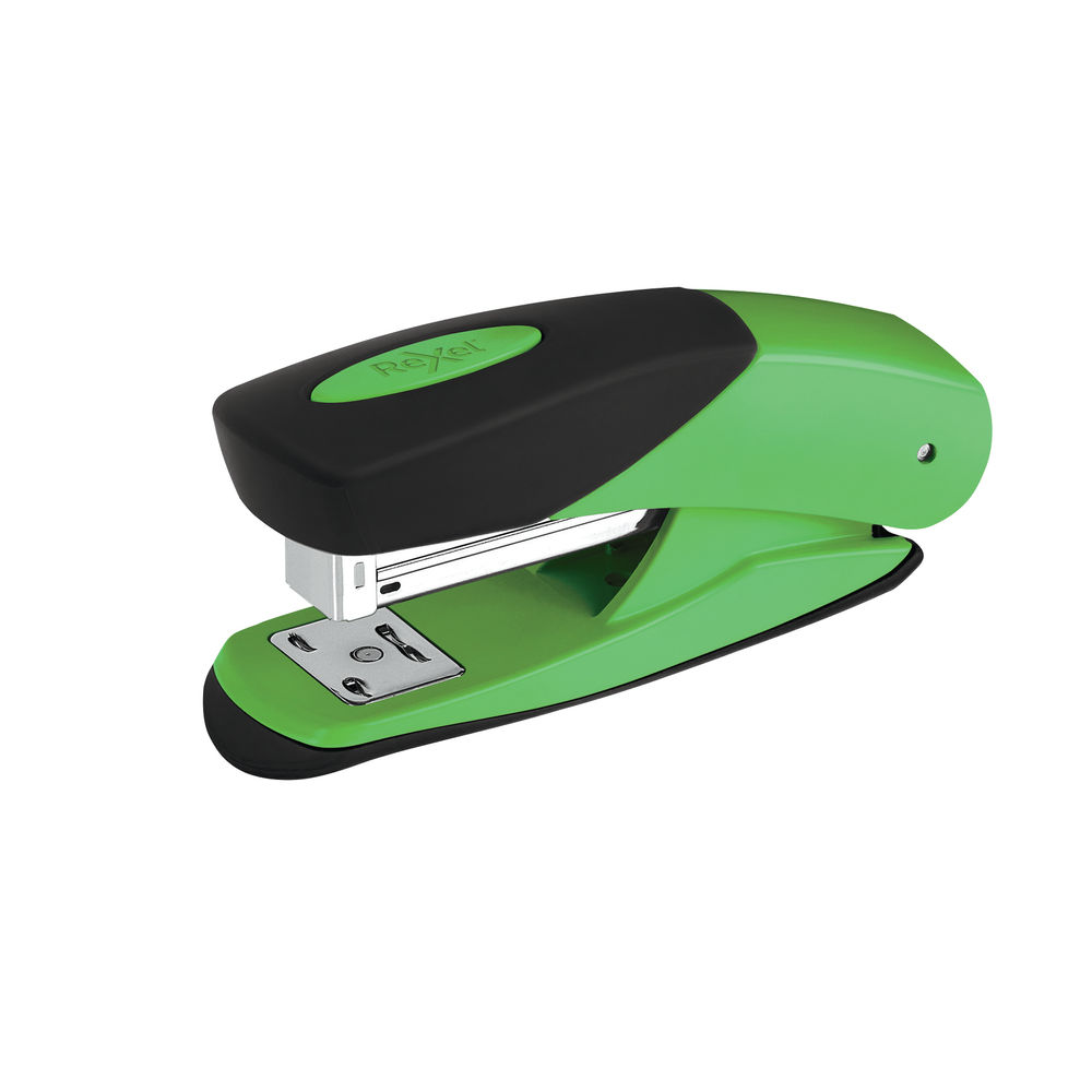 Rexel Choices Green Matador Half Strip Stapler - 2115690