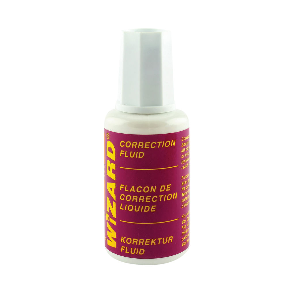 20ml Correction Fluids, Pack of 10 - WX10507