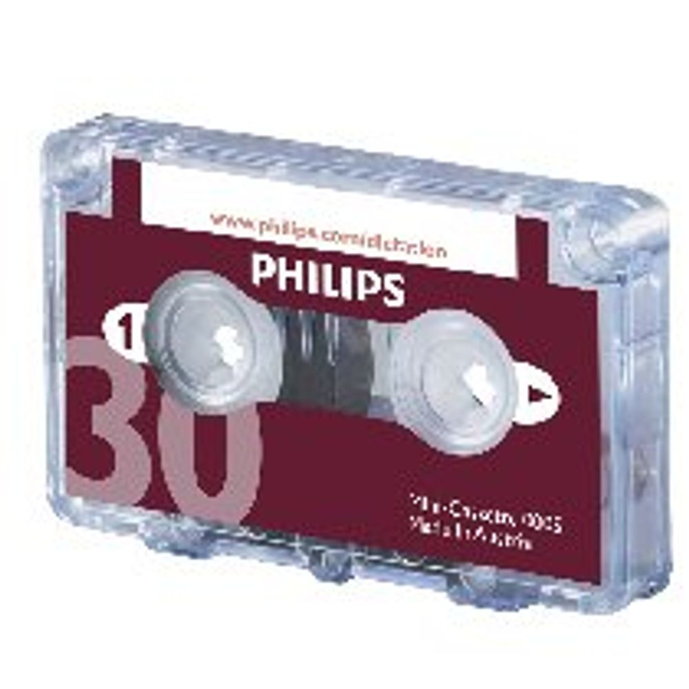 Philips Dictation Cassette 30 Minutes (Pack of 10) LFH0005/30