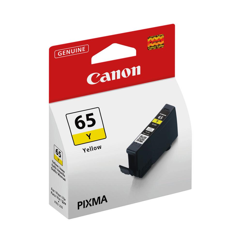 Canon CLI-65 Yellow Ink Tank 4218C001