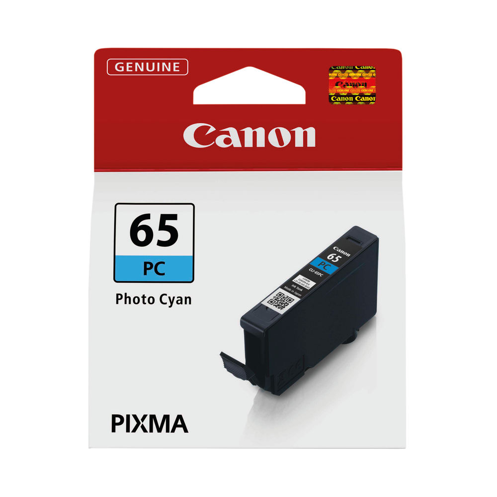 Canon CLI-65 Photo Cyan Ink Tank 4220C001