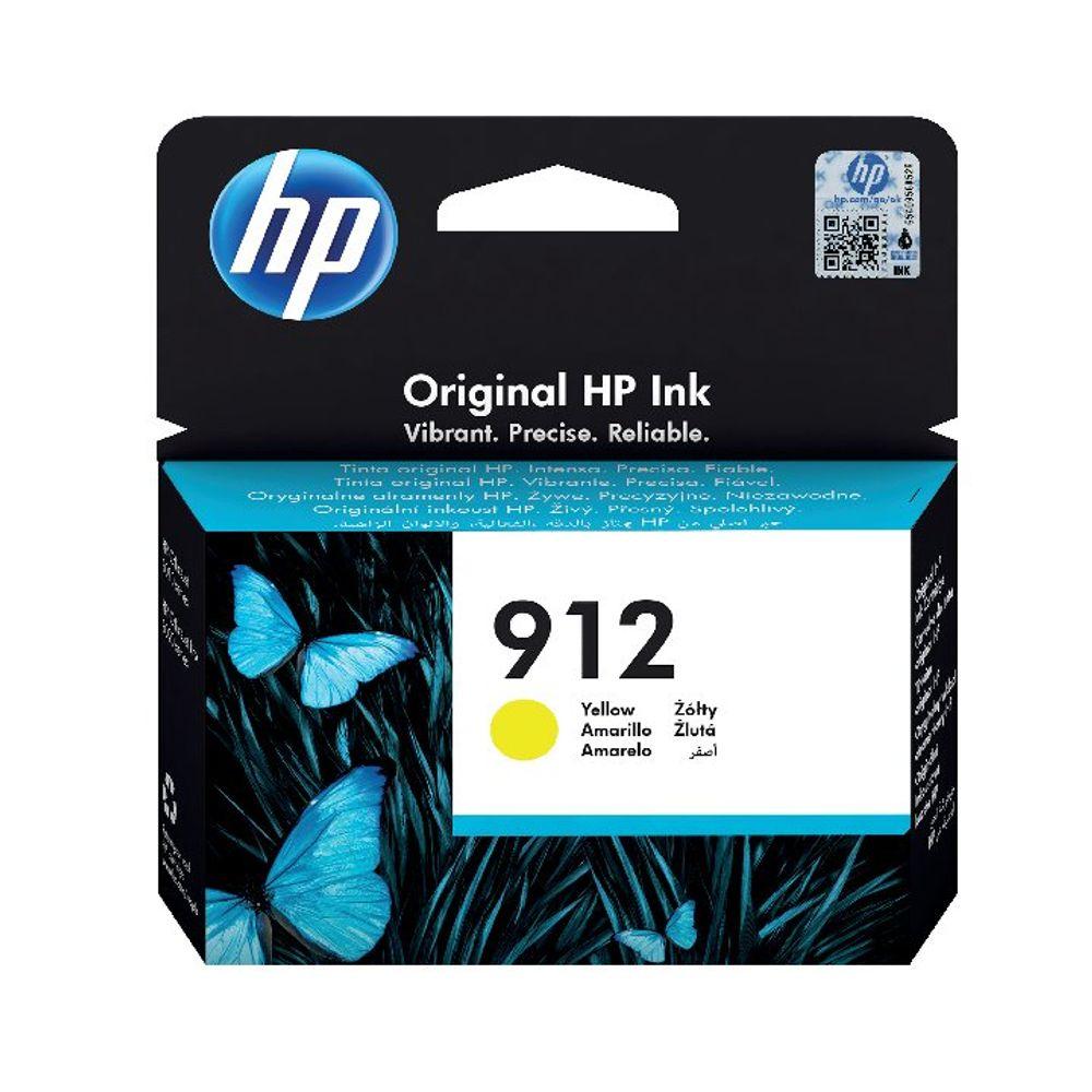 HP 912 Yellow Ink Cartridge - 3YL79AE