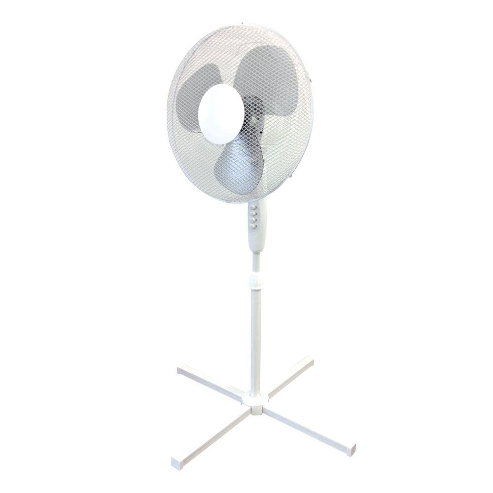 Q-Connect 16 Inch Pedestal Floor Standing Fan - KF00404