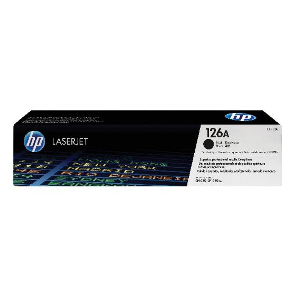 HP 126A Black Laserjet Toner Cartridge CE310A