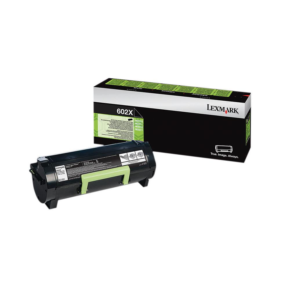 Lexmark 602X Black Toner Cartridge - Extra High Capacity 60F2X00