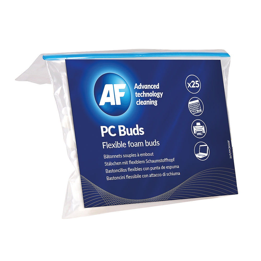 AF Foam PC Cleaning Buds (Pack of 25) APCB025