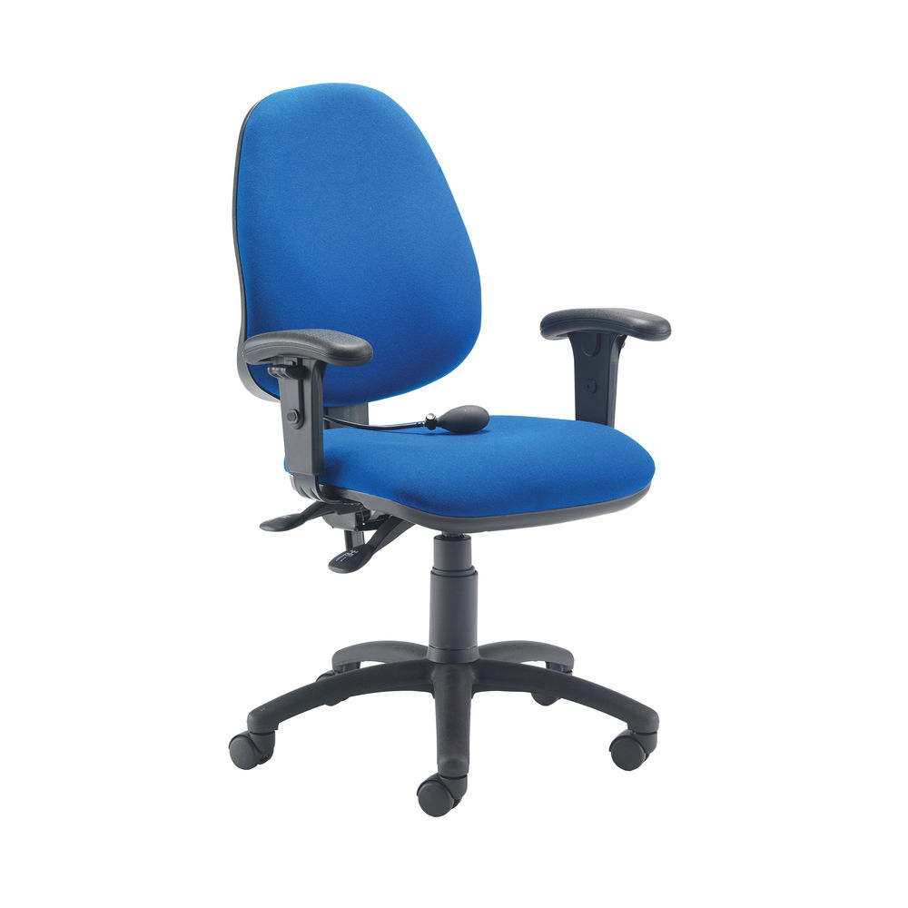 Jemini Intro Blue Posture Office Chair with Arms - KF838995