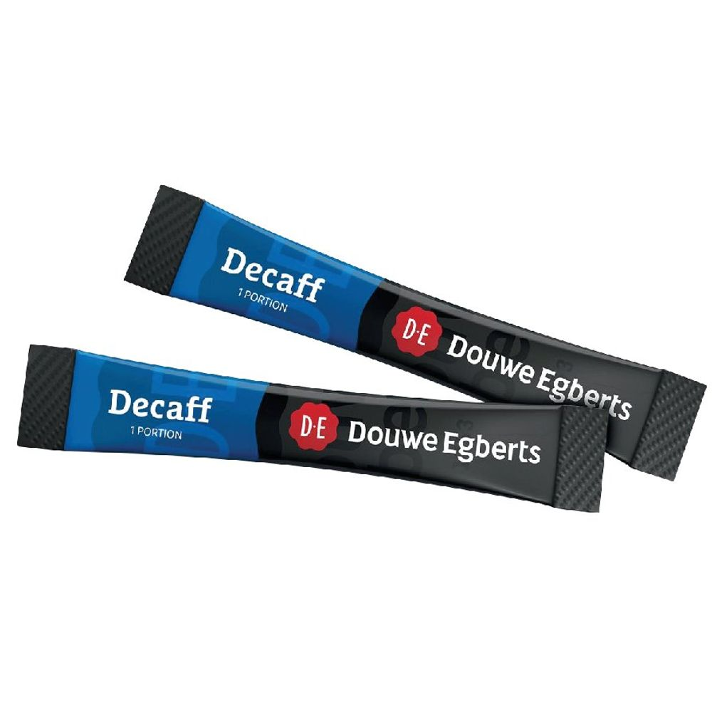 Douwe Egberts Decaffinated Coffee Sticks (Pack of 500 one cup sticks) 4041420