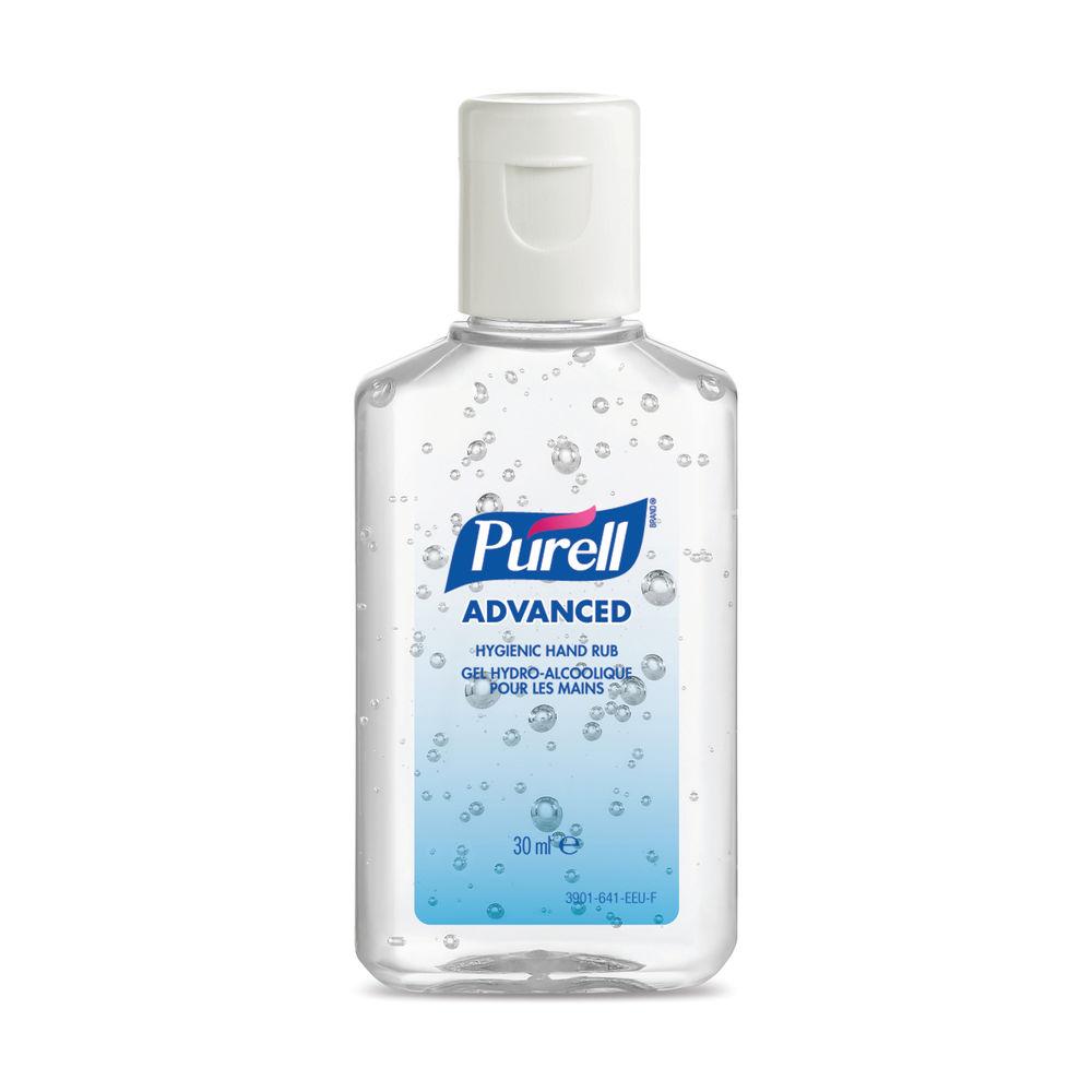 Purell Advanced Hygienic Hand Sanitiser Flip Top Bottle 30ml 3901-99-EEU00