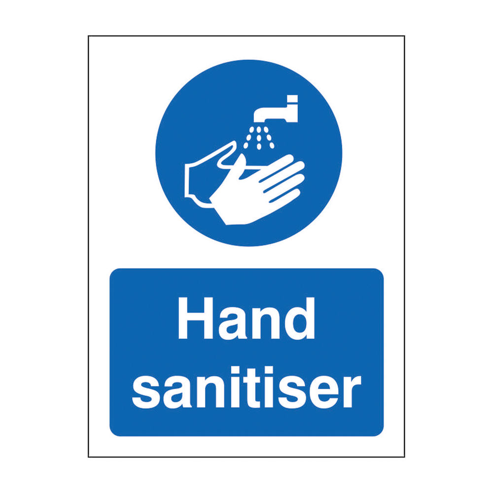 Safety Sign Hand Sanitiser SRP 150 x 200mm M400SRP-150X200