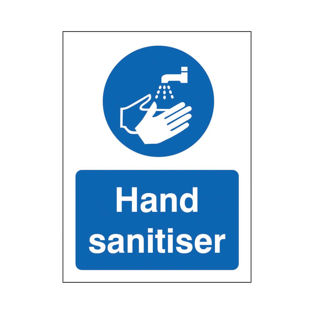 Safety Sign Hand Sanitiser SRP 200 x 300mm M400SRP-200X300
